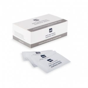 Surface Wipes Individually wrapped anti-bacterial surface wipes